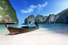 Maya bay Phi Phi Leh island Royalty Free Stock Images