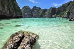 Maya bay, Phi Phi Leh Stock Photos