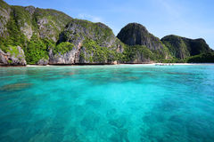 Maya bay, Phi Phi Leh island Royalty Free Stock Image