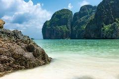 Maya bay Phi Phi Leh island Stock Images