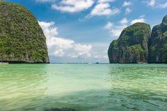 Maya bay Phi Phi Leh island Stock Photography