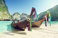 Maya bay Phi Phi Leh island Royalty Free Stock Image