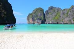Maya Bay, Tailandia Fotografia Stock Libera da Diritti