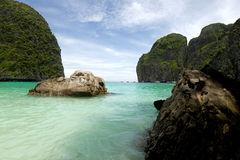 Maya bay Thailand Royalty Free Stock Images