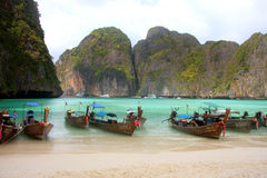 Maya bay - Thailand Royalty Free Stock Images