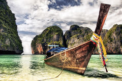 Maya Beach Stock Photography