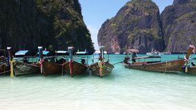 Maya Beach Immagine Stock