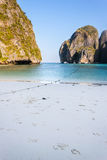 Maya beach in the morning Royalty Free Stock Photos
