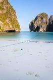 Maya beach in the morning Royalty Free Stock Photos