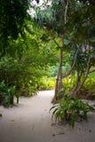 Maya Beach nascosta Fotografia Stock