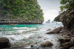 Maya Beach nascosta 2 Fotografia Stock Libera da Diritti