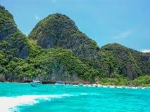 Maya Beach Phi Phi-eiland Thailand Royalty-vrije Stock Foto