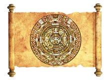Maya calendar Royalty Free Stock Image