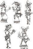 Maya characters Stock Images