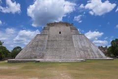 Maya city of Uxmal Stock Image