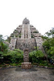 Maya civilization building Stock Image