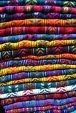 Maya clothes at the San Cristobal de las Casas. Mexico Stock Photos