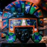 Maya de la máscara Foto de archivo libre de regalías