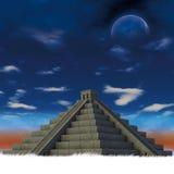 Maya de Pyiramid ilustração royalty free