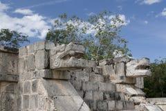 Maya de sculpture Images libres de droits