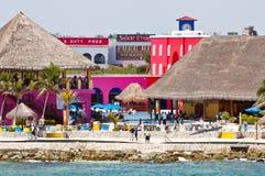 Maya della Costa, Messico Immagine Stock Libera da Diritti