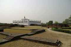 Maya Devi-tempel in Lumbini Royalty-vrije Stock Afbeelding