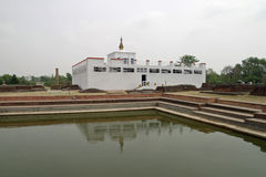 Maya Devi-tempel in Lumbini Royalty-vrije Stock Fotografie