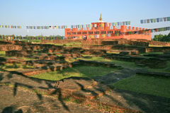 Maya devi temple stock photos