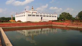 Maya Devi Temple in Lumbini,Nepal royalty free stock images