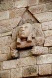 Maya dipenda la facciata Fotografia Stock