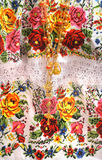 Maya embroidery detail Royalty Free Stock Images