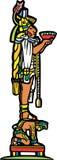 Maya et esclave illustration stock
