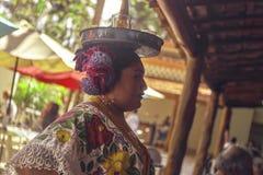 Maya folklore royalty free stock image