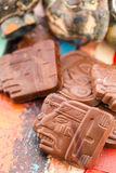Maya glyphs Stock Image