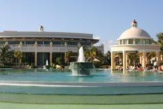 Maya iberostar großartiges paraiso Pool Mexiko-Riviera Lizenzfreies Stockbild