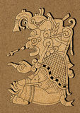 Maya - illustratie van Mayan Codex van Dresden Royalty-vrije Stock Foto