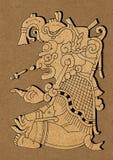 Maya - ilustración del códice maya de Dresden Foto de archivo libre de regalías