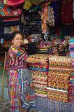 Maya indigenous people. Indigenous people of Maya descent Maya civilization in traditional clothing royalty free stock photos