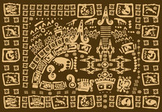 Maya kunstwerk Royalty-vrije Stock Fotografie