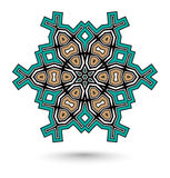 Maya mandala Royalty Free Stock Photo