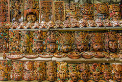 Maya Masks Royalty Free Stock Images