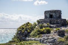 Maya Mexikos Yucatan Tulum ruiniert 2 stockfotografie