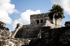 Maya Mexikos Yucatan Tulum ruiniert 4 stockbilder