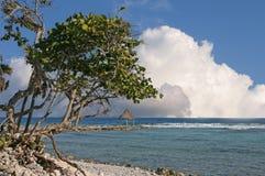 Maya Mexique la Riviera de plage Image libre de droits