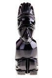 Maya obsidian statuette