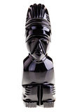 Maya obsidian statuette Stock Image