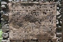 Maya Panel Mexico Stock Photos