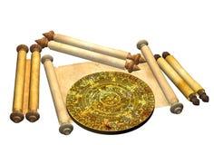 Maya prophecy Royalty Free Stock Image
