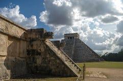 Maya Pyramid, Chichen-Itza Fotografia de Stock