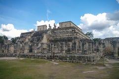 Maya Pyramid, Chichen-Itza Imagens de Stock